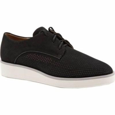 ソフトウォーク SoftWalk レディース ローファー・オックスフォード シューズ・靴 Willis Oxford Black Nubuck