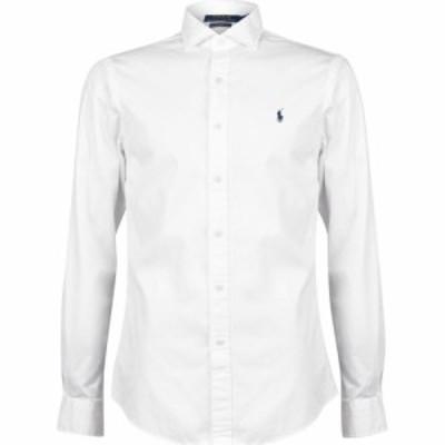 ラルフ ローレン Polo Ralph Lauren メンズ シャツ トップス Slim Fit Chino Shirt White