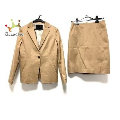 アンタイトル UNTITLED スカートスーツ サイズ2 M レディース ライトブラウン   スペシャル特価 20201128