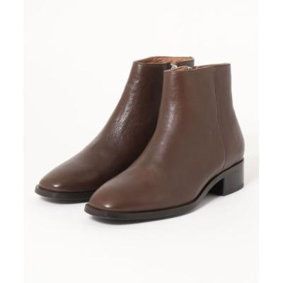 ABAHOUSE PICHE / 【販売店舗限定】スクエアトゥショートブーツ WOMEN シューズ > ブーツ