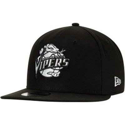 ニューエラ メンズ 帽子 アクセサリー Rio Grande Valley Vipers New Era Official G-League 9FIFTY Adjustable Snapback Hat Black