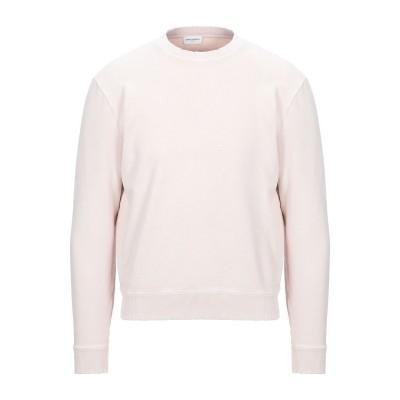 SAINT LAURENT スウェットシャツ ライトピンク XS コットン 100% スウェットシャツ