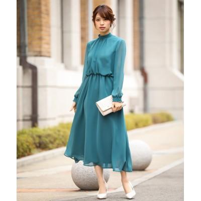 【結婚式。お呼ばれ。二次会】後ろリボンデザインロングワンピースドレス<大きいサイズ有> ,スマイルランド, 【謝恩会・パーティドレス】Dress