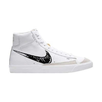 NIKE BLAZER MID 77 'SKETCH BLACK' ナイキ ブレザー ミッド スケッチ ブラック 【MEN'S】 summit white/black-sail CW7580-101