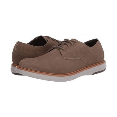 Clarks クラークス メンズ 男性用 シューズ 靴 オックスフォード 紳士靴 通勤靴 Draper Lace - Olive Suede w/ Beige Outsole
