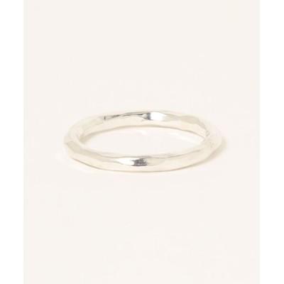 指輪 【Scrap Book】SV925 ハンドミドルリング