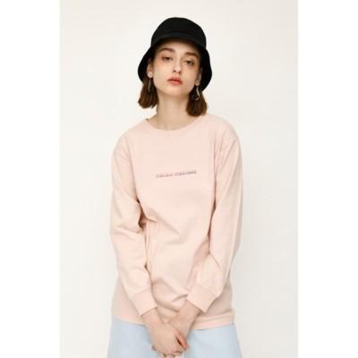 MELLOW L/S Tシャツ L/PNK1