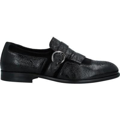 マイケルサイモン MICHEL SIMON メンズ ローファー シューズ・靴 Loafers Black