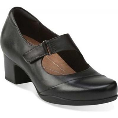 クラークス Clarks レディース シューズ・靴 Rosalyn Wren Black Leather