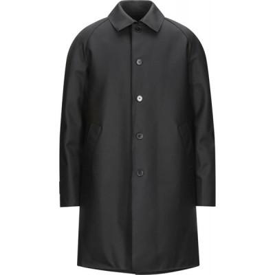 ハリスワーフロンドン HARRIS WHARF LONDON メンズ コート アウター full-length jacket Black