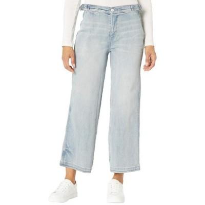 カーブデザイン レディース デニムパンツ ボトムス Portland Wide Leg Jeans