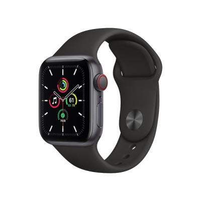 Apple Apple Watch SE GPS+Cellularモデル 40mm MYEK2J/A [ブラックスポーツバンド]