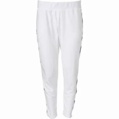 アンダーアーマー その他ボトムス・パンツ Threadborne Microthread 24/7 Tapered Slouch Pants White/Black