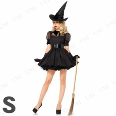 コスプレ 仮装 魅惑的な魔女 大人用 S コスプレ 衣装 ハロウィン 仮装 コスチューム パーティーグッズ 余興 魔法使い 可愛い かわいい ウ