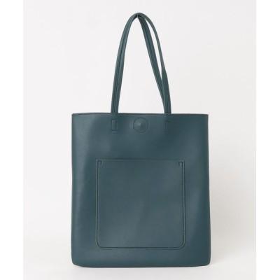 ZealMarket/SFW / 【A4ファイルすっぽり】【シンプル&上品なデザイン】縦型トートバッグ WOMEN バッグ > トートバッグ