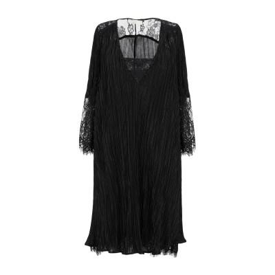 W LES FEMMES by BABYLON ミニワンピース&ドレス ブラック 42 ナイロン 100% ミニワンピース&ドレス