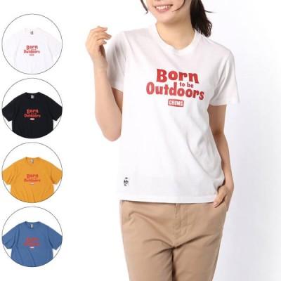 CHUMS チャムス Born to be Outdoors T-Shirt ボーントゥビーアウトドアズTシャツ トップス レディース 2021年春夏 CH11-1851
