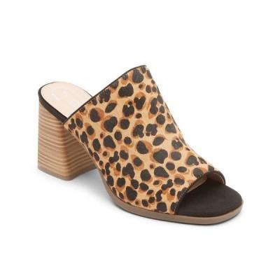 ロックポート サンダル シューズ レディース Women's Total Motion Amara Slides Leopard