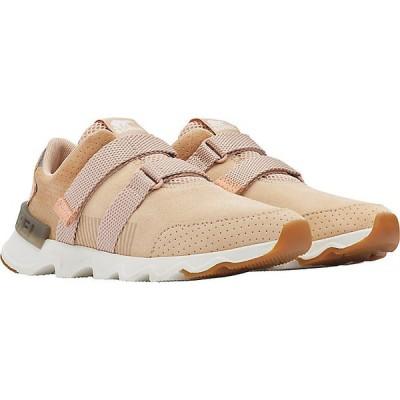 ソレル スニーカー レディース シューズ Sorel Women's Kinetic Lite Strap Shoe Natural Tan