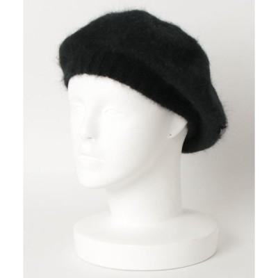 帽子 マニエラ アンゴラ ベレー