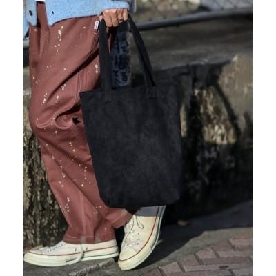 トートバッグ バッグ ◆【WEB限定】テック スウェード トートバッグ