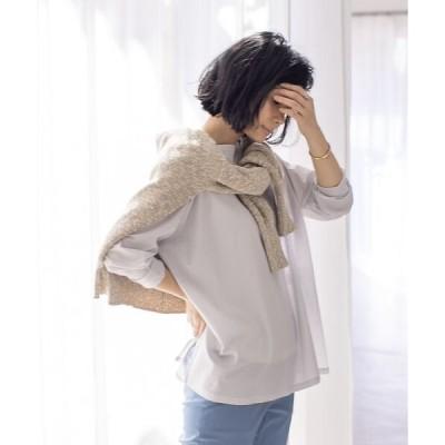qualite / カリテ 【WEB・一部店舗限定】シアーロングTシャツ