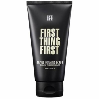 【送料無料】 DTRT ディティアールティ FIRST THING FIRST フェーススクラブ 洗顔料 150ml 韓国コスメ メンズ 男性用