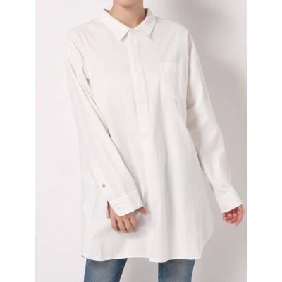 【公式】Ungrid(アングリッド)スキッパーロングシャツ
