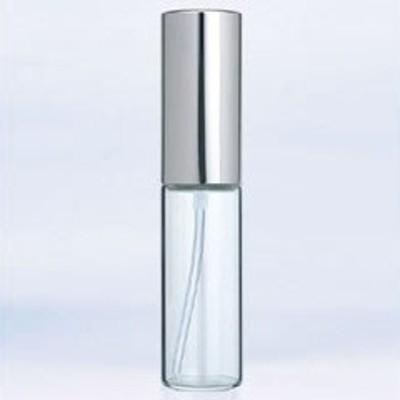 【香水 ヤマダアトマイザー】YAMADA ATOMIZER グラスアトマイザー シンプル 6202 クリアボトル/キャップシルバー 10ml