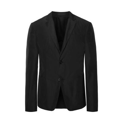 プラダ PRADA テーラードジャケット ブラック 54 ポリエステル 100% テーラードジャケット