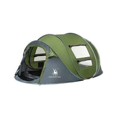 Outdoor Rainproof Tent Multi-Person Hiking Camping Double-Layer Windproof Automatic Speed-Opening Tent, Size: 280x200x120cm, Dreamcrown (Col