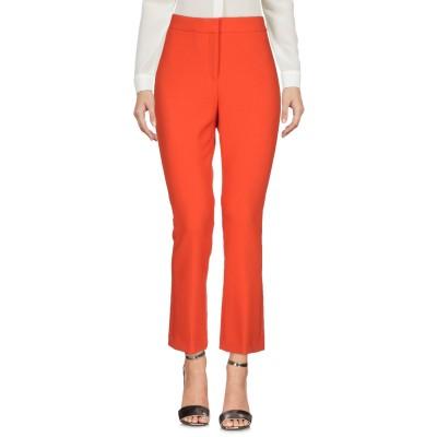 セオリー THEORY パンツ オレンジ 4 ポリエステル 65% / レーヨン 32% / ポリウレタン 3% パンツ
