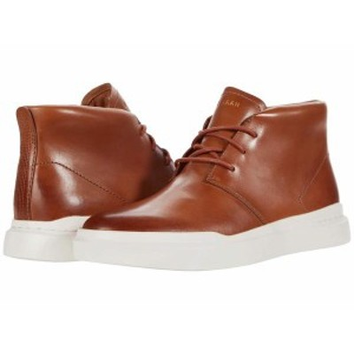 コールハーン メンズ スニーカー シューズ Grandpro Rally Chukka Sneaker British Tan Handstain