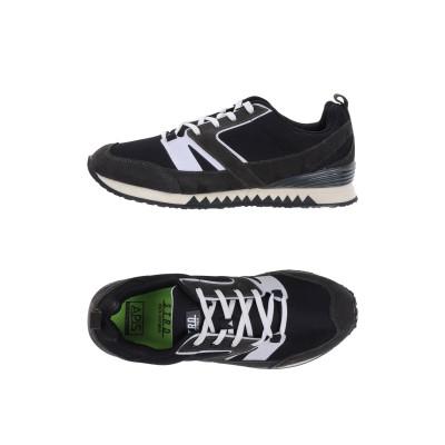 STRD by VOLTA FOOTWEAR スニーカー&テニスシューズ(ローカット) ブラック 36 革 / 紡績繊維 スニーカー&テニスシューズ