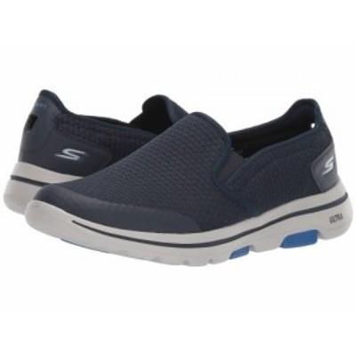 SKECHERS Performance スケッチャーズ メンズ 男性用 シューズ 靴 スニーカー 運動靴 Go Walk 5 Apprize Navy【送料無料】