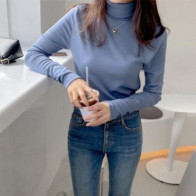 厚目ポーラ長袖Tシャツ いよいよQOO10入店!大人気韓国女性ファッションブランド「REALCOCO」入店イベ