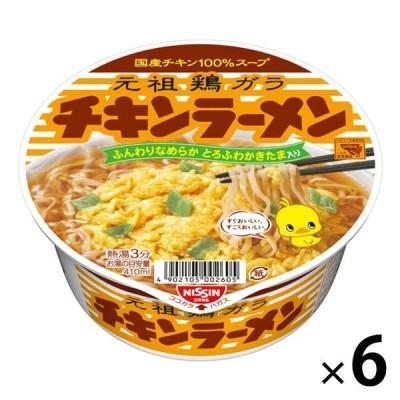 日清食品 日清チキンラーメンどんぶり(6個入り)