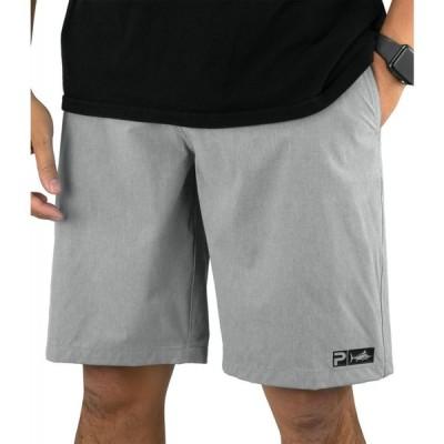 ペラジック Pelagic メンズ ショートパンツ ボトムス・パンツ Deep Sea Hybrid-Shorts Gray