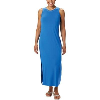 (取寄)コロンビア レディース スラック ウォーター ニット マキシ ドレス Columbia Women's Slack Water Knit Maxi Dress Stormy Blue 送料無料