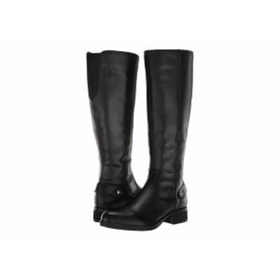 スティーブ マデン レディース ブーツ&レインブーツ シューズ Jax Riding Boot - Wide Shaft Black Leather