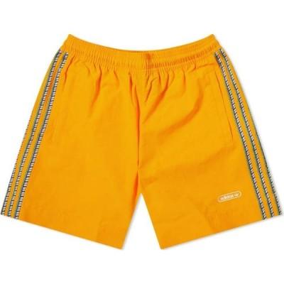 アディダス Adidas メンズ ショートパンツ ボトムス・パンツ Taped Shorts Crew Orange
