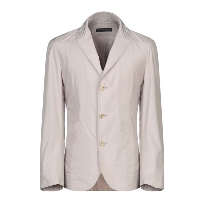 CORNELIANI ID テーラードジャケット ベージュ 50 ポリエステル 100% テーラードジャケット