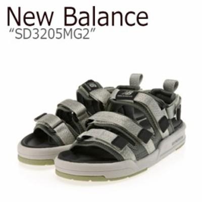 ニューバランス サンダル New Balance メンズ レディース SD 3205 MG2 KHAKI カーキ SD3205MG2 シューズ