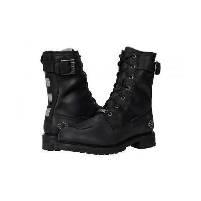 """Harley-Davidson ハーレーダビッドソン レディース 女性用 シューズ 靴 ブーツ ライダーブーツ Bremerton 7"""" Lace - Black"""
