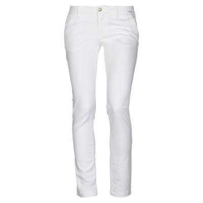 モノクロム MONOCROM パンツ ホワイト 29 コットン 98% / ポリウレタン 2% パンツ