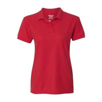 レディース 衣類 トップス Gildan - DryBlend(R) Women's Double Pique Sport Shirt Gildan - NIB Tシャツ