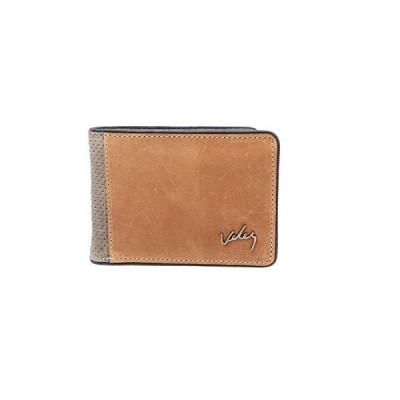 VELEZ Bifold Leather Wallet for Men - 7 Card Slots Genuine Leather Wallet