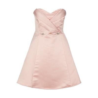 ROBERTA BIAGI ミニワンピース&ドレス ライトピンク L ポリエステル 100% ミニワンピース&ドレス