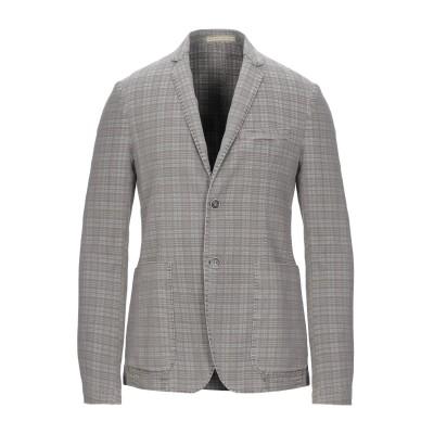HAVANA & CO. テーラードジャケット グレー 46 コットン 80% / ポリエステル 17% / ポリウレタン 3% テーラードジャケット