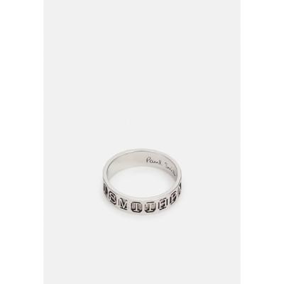 ポールスミス リング メンズ アクセサリー STAMP - Ring - silver-coloured
